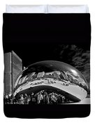 Cloud Gate Chicago - The Bean Duvet Cover by Christine Till