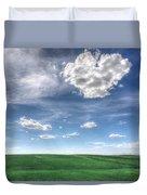 Cloud Heart Duvet Cover