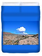 Cloud In Colorado Duvet Cover