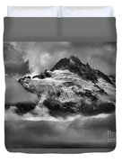 Cloud Layers Over Tantalus Duvet Cover
