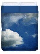 Cloud Shapes Duvet Cover
