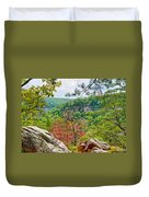 Cloudland Canyon State Park Georgia Duvet Cover