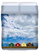 Clouds And Sheds Duvet Cover