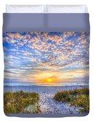 Clouds At Dawn Duvet Cover