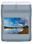 Clouds Flying Clouds Floating Duvet Cover
