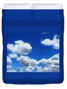 Clouds In A Blue Sky Duvet Cover