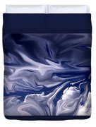 Clouds In Chaos Duvet Cover
