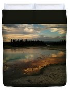 Clouds In The Water Duvet Cover