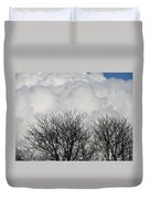 Clouds Named Cotton Duvet Cover