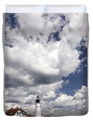 Clouds Of Glory - Portland Headlight Duvet Cover