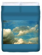 Clouds Of Tomorrow Duvet Cover