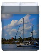Clouds On The Water Duvet Cover