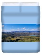 Clouds Over A Mountain Range, Torres Duvet Cover