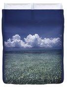 Clouds Over Bora Bora Duvet Cover