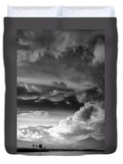 Clouds Over Loch Laich Duvet Cover