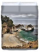 Clouds Over Mcway Duvet Cover