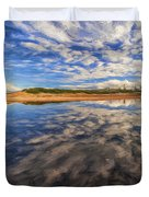 Clouds Over Narrabeen Lake Duvet Cover