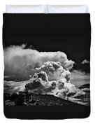 Clouds Over Santa Fe Duvet Cover