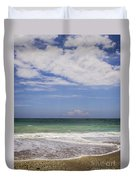 Clouds Over The Ocean Duvet Cover