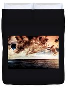 Clouds Over The Water Duvet Cover