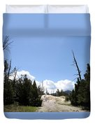 Clouds Over Thermal Area Duvet Cover