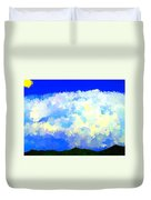 Clouds Overhead Duvet Cover
