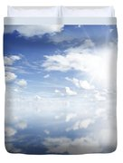 Clouds Reflected Duvet Cover