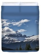 Clouds Sky Mountains Duvet Cover