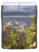 Cloudy Bright Angel Trail II Duvet Cover