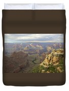 Cloudy Bright Angel Trail  Duvet Cover