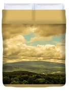 Cloudy Day In New Hampshire Duvet Cover