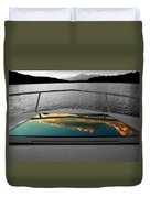 Cloudy Reflection Duvet Cover