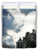 Cloudy Steeple Duvet Cover