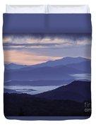Cloudy Sunrise Duvet Cover