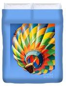 Clovis Hot Air Balloon Fest 5 Duvet Cover