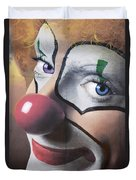 Clown Mural Duvet Cover