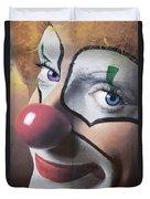 Clown Mural Duvet Cover