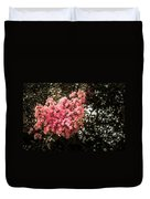 Clump Of Flowers Duvet Cover
