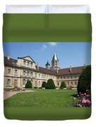 Cluny Abbey - Burgundy Duvet Cover