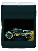 Clu's Lightcycle Duvet Cover