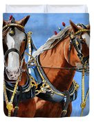 Clydesdale Duo Duvet Cover