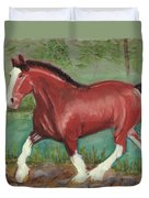 Clydesdale Duvet Cover