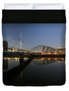 Clydeside Reflections  Duvet Cover