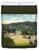 Coalinga Oil And Transportion Co. Pumping Station No. 2 Circa 1910 Duvet Cover