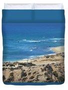 Coast Baja California Duvet Cover