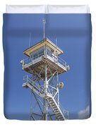 Coast Guard Tower Duvet Cover