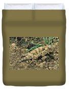 Coast Horned Lizard Duvet Cover