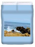 Coast Of California # 19 Duvet Cover