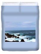Coast Of California # 20 Duvet Cover