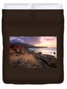 coast of Crete 'IV Duvet Cover